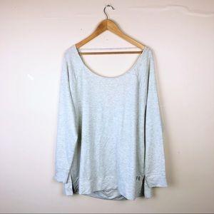 🍋 Victoria's Secret pull over sweatshirt size XL